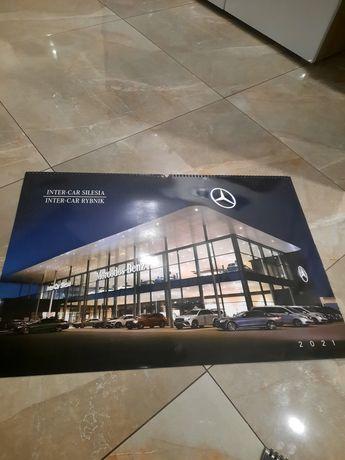 Kalendarz samochodu  Mercedes