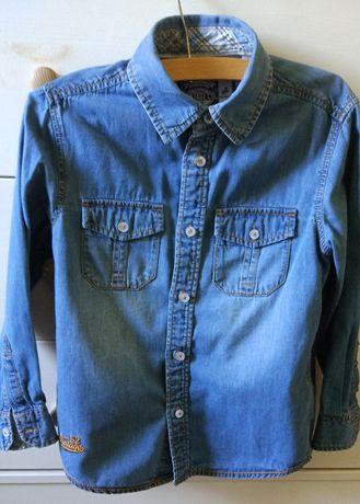 Koszula jeansowa C&A chłopięca 116