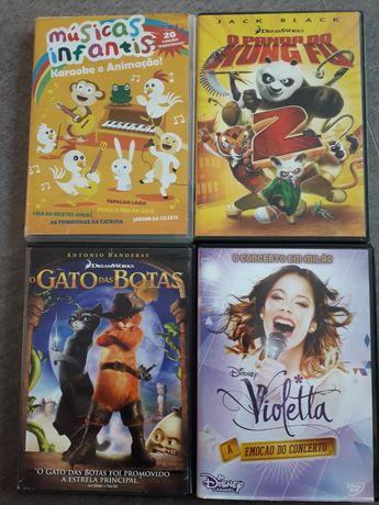 DVD Infantis vários