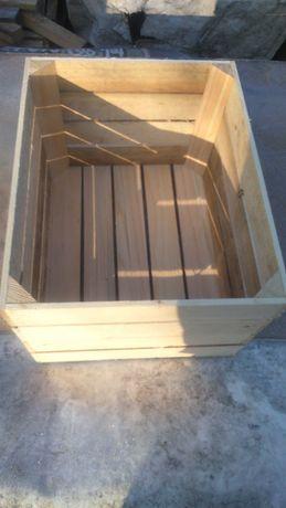 Skrzynki drewniane 50x40x30