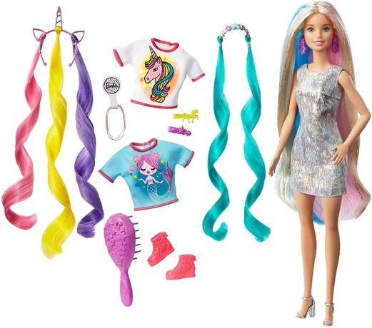 ОРИГИНАЛ! Кукла Барби Фантазия волос Русалка и Единорог Barbie Fantas