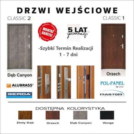 Drzwi do mieszkań-domów wyciszone z montażem od 990 zł.
