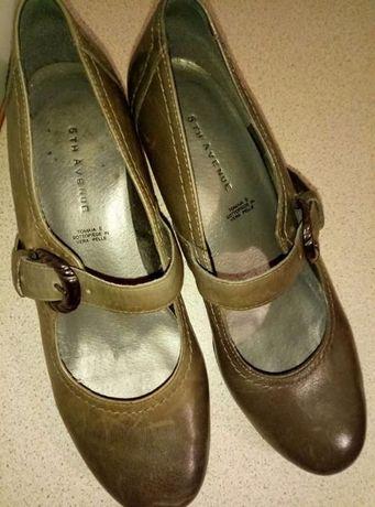 Жіночі туфлі, 37 розмір (сірого кольору)