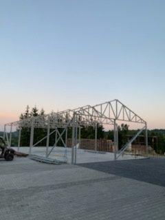 Konstrukcja Stalowa Hali Wiaty Garażu 20x9
