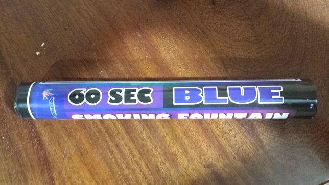 Дымовая шашка 60 с цвет Голубой