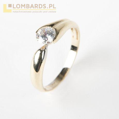 złoty pierścionek p. 585 rozmiar 15