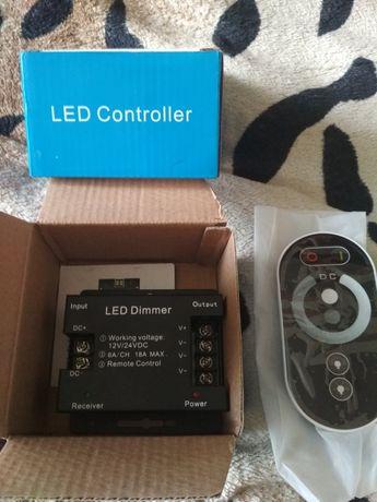 Лэд контроллер 12V/24VDC 18A MAX
