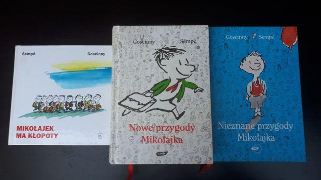 Nowe przygody Mikołajka, nieznane przygody Mikołajka, Mik.. ma kłopoty