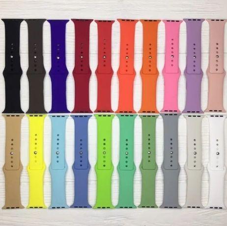 Ремешок спортивный силиконовый для Apple Watch 38/40/42/44mm Iwo