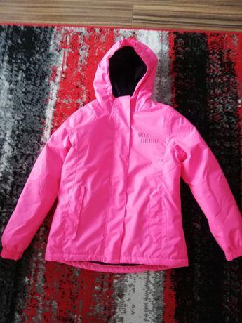 Sprzedam 2 szt kurtki jesienno-wiosenne dla dziewczynki 134-140