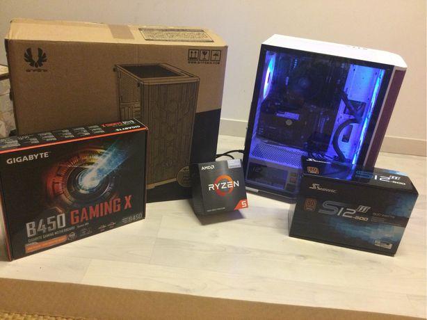 Pc gamer Pc gaming RYZEN 5 5600g matherboard gigabyte B 450 gaming x
