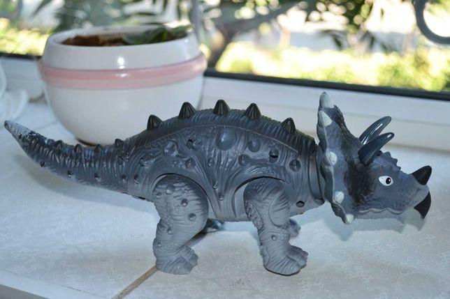 Игрушка интерактивная Трицератопс динозавр