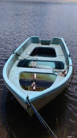 bote de recreio de fibra