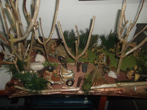 Diorama militar escala 1:35