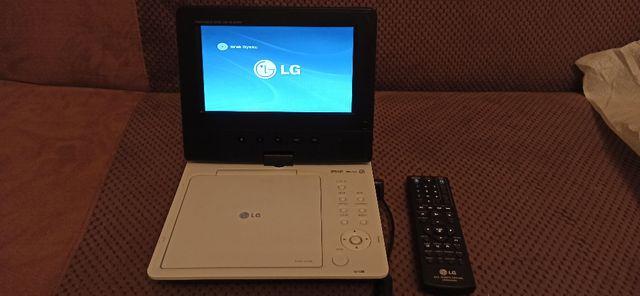 Przenośny odtwarzacz DVD marki LG DP351