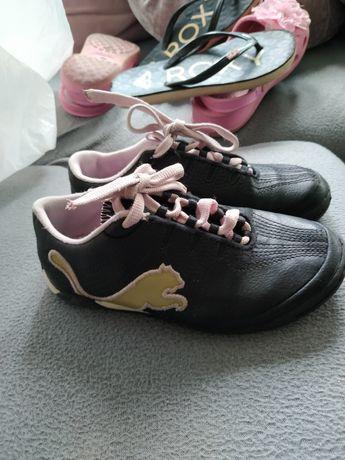 Adidasy Puma dziewczęce