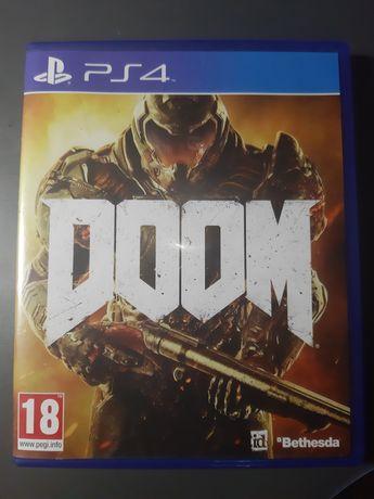 Диск DOOM на PS4