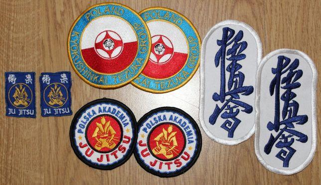 Naszywki Polska Akademia Ju Jitsu/Poland Kyokushinkai Tezuka Group