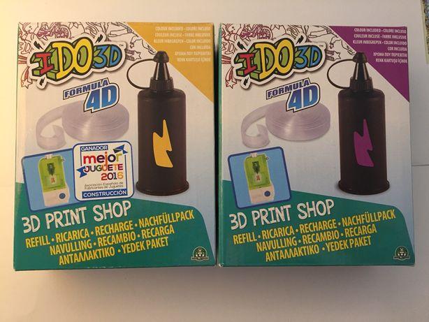 2 recargas para Ido3D