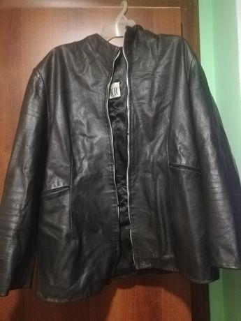 Куртка кожаная 44р