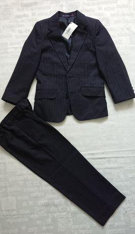 Классический костюм/нарядный/в школу BHS (Англия) темно-синий, 6-7 лет