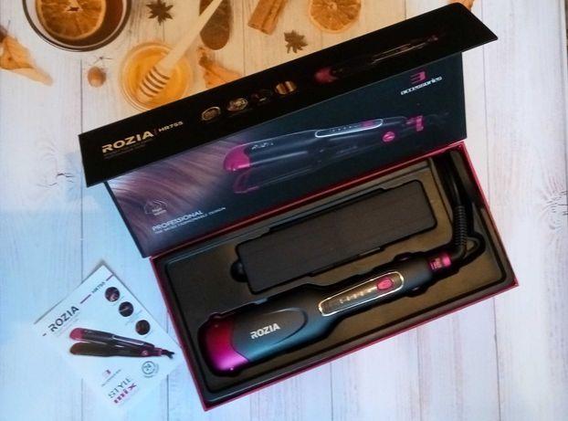 Гофре | Утюжок | Плойка | Стайлер для волос 3в1 ROZIA HR-755 КАЧЕСТВО!
