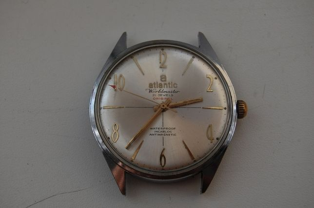 Stary zegarek Atlantic Worldmaster.