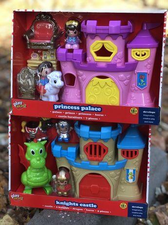 Замок будинок игрушка розвивашка дом домик замок