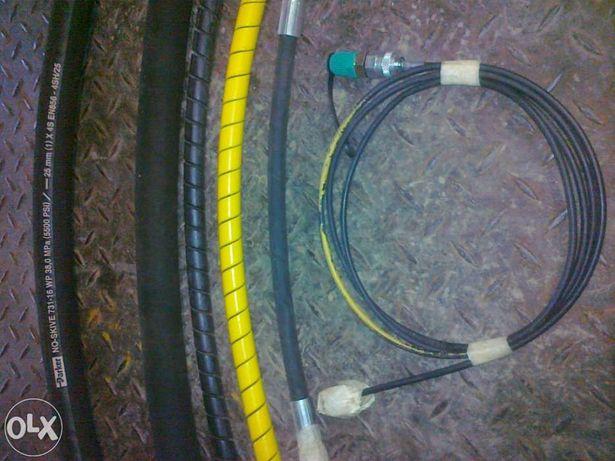 Kit de 6 tubos novos para escavadora Caterpillar.