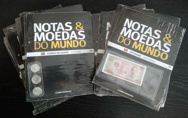 Notas & moedas do mundo