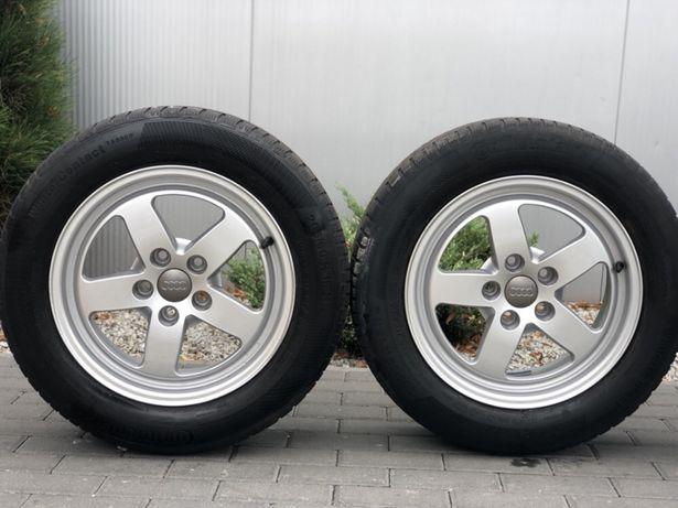""" Alufelgi koła aluminiowe 16"" AUDI A3 A4 A5 A6+ opony 205/60r16 8mm!!"