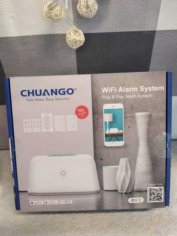 Alarm system WI FI likwidacja sklepu
