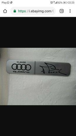 AUDI 10 Jahre Quattro Emblemat Audi 90, 80, 100,200 znaczek