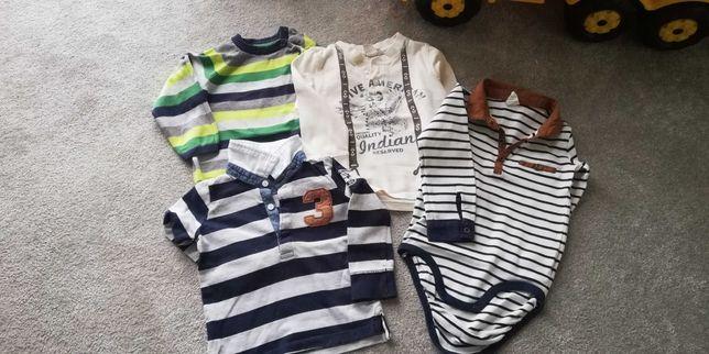 Bluzeczki dla chłopca roz. 86