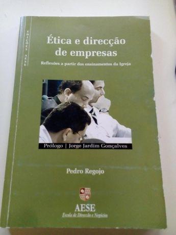 """Livro """"Ética e direção de empresas""""- Pedro Regojo"""