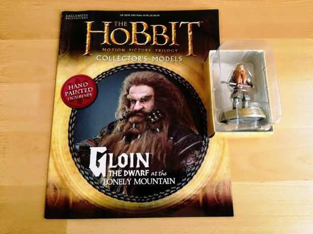 figurka+magazyn - HOBBIT - Gloin, kolekcja Eaglemoss