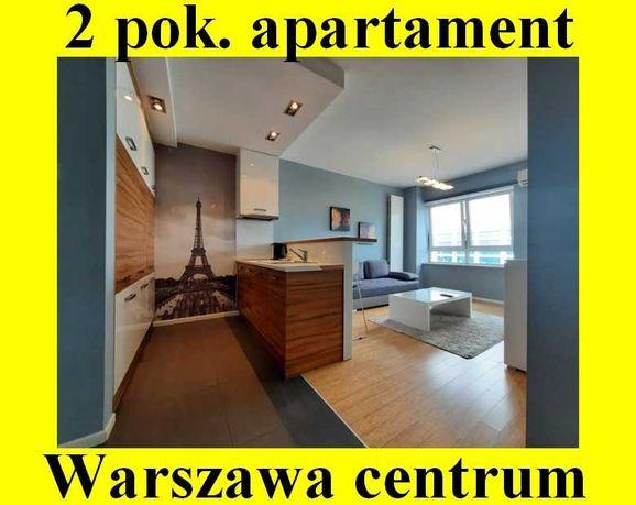 2 pokojowe mieszkanie APARTAMENT Warszawa Śródmieście 2800 pln +opłaty
