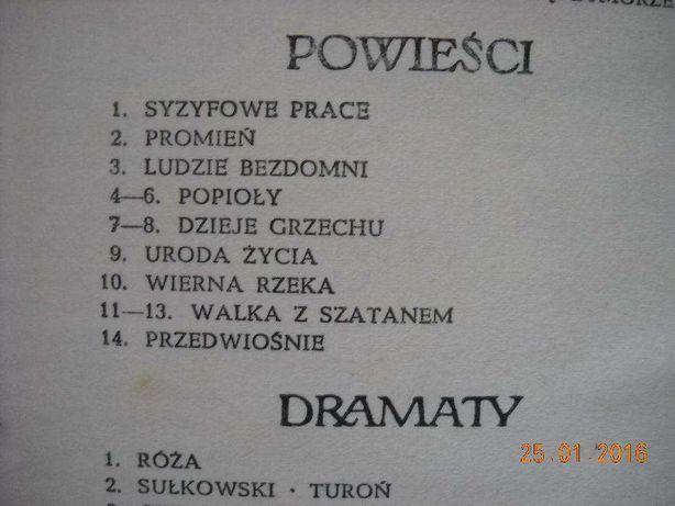 """Stefan Żeromski - ,,Dzieła"""""""