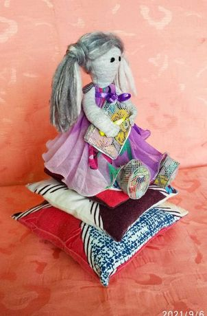 Интерьерная кукла Феечка Фанни
