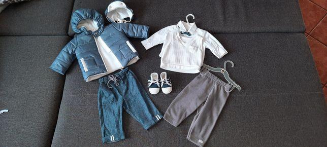 Ubranie dla chłopca do chrztu