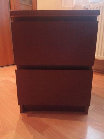 IKEA MALM Komoda, 2 szuflady stolik nocny