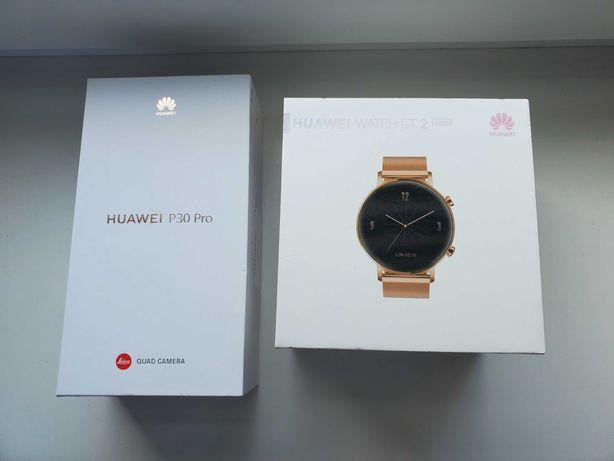 Huawei p30 pro 6gb/128gb+Huawei Watch GT 2 Elegant 42mm/Dodatki!
