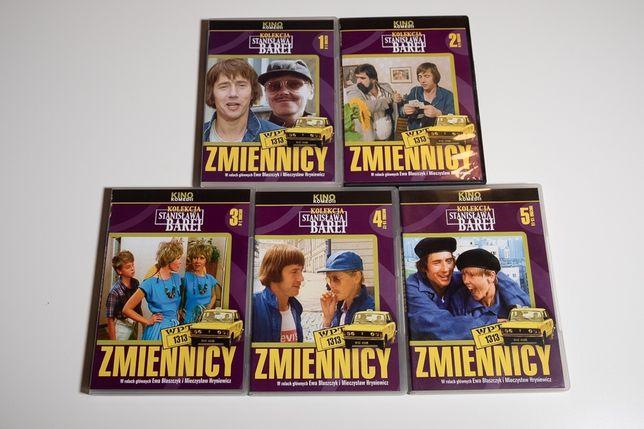 Serial Zmiennicy na DVD komplet