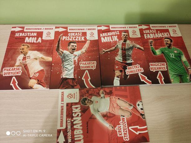 Książki piłkarskie Mila, Piszczek, Milik, Fabiański