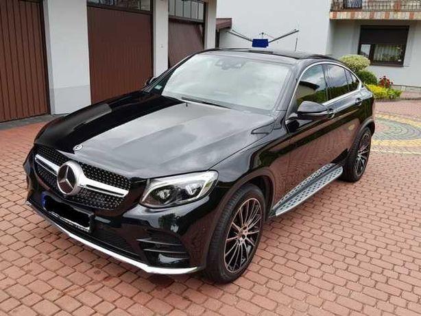Mercedes GLC Coupe AMG pakiet, 46 tys. km, koła 20 cali, jak nowy