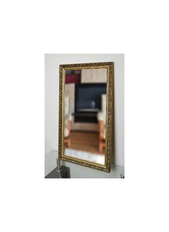 Piękne duże lustro 6001 zdobione 60x190cm złote