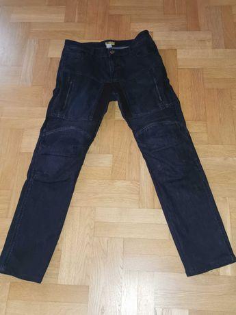 Spodnie motocyklowe jeansowe
