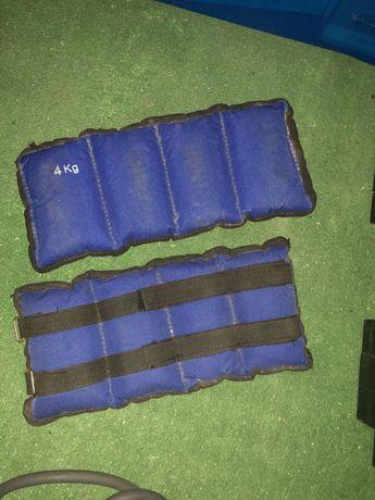 Pesos 4kg +3 elasticos