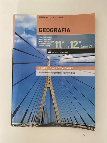 Caderno de Atividades de Geografia (porto editora)
