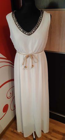 suknia biała rozm S
